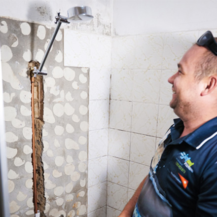 Leaking Shower Red Hill
